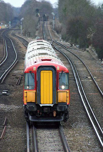 2418 Worting Junction 20/12/2004