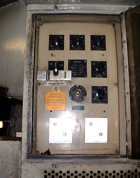 Traction Motor Isolation Switches, 23/9/2004