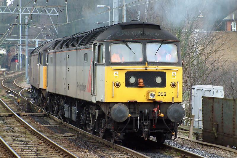 47358 and 47303, Ipswich 26/1/2004