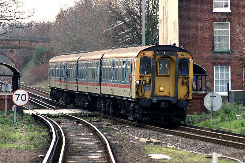 1699 Canterbury West 29/12/2004<br /> 1Z71 1201 Dover Priory-Dover Priory (via Ashford and Sandwich)