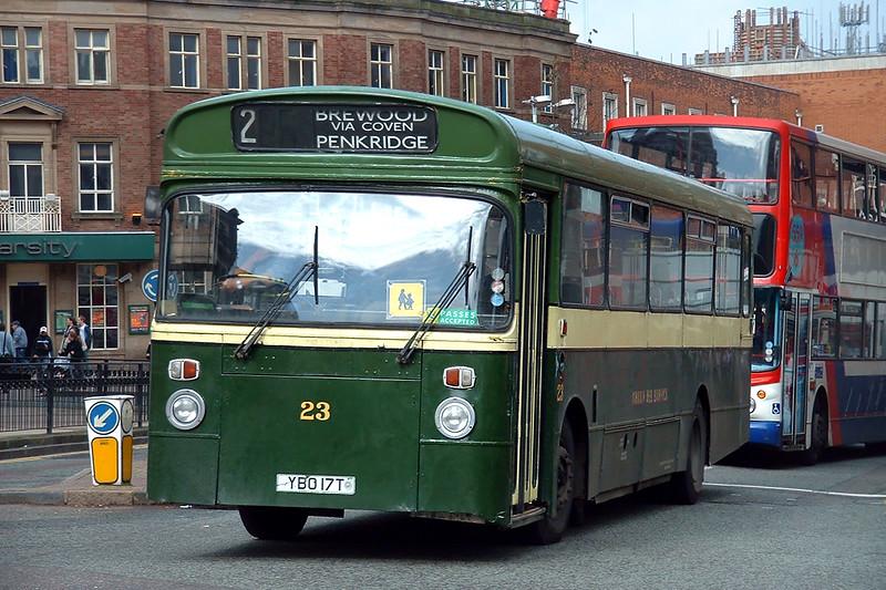 23 YBO17T, Wolverhampton 30/9/2004