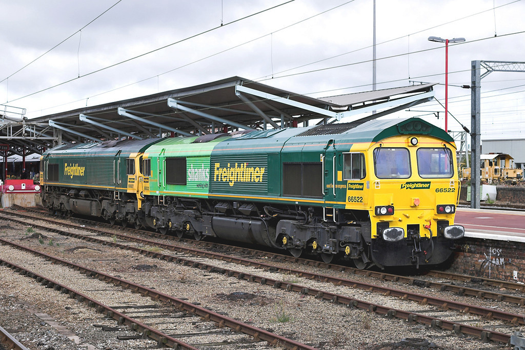 66522 and 66607, Rugby 1/10/2005