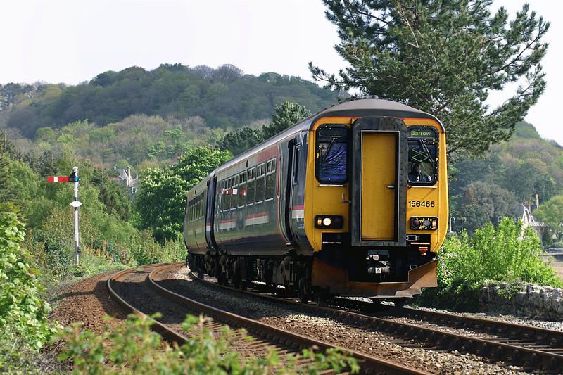 156466 Grange-over-Sands 2/5/2005<br /> 2C91 1008 Preston-Barrow in Furness