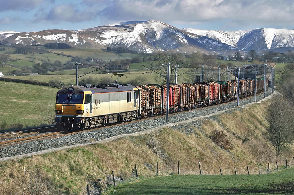 92039 Docker 4/3/2005<br /> 4M63 0915 Mossend Yard-Warrington Arpley