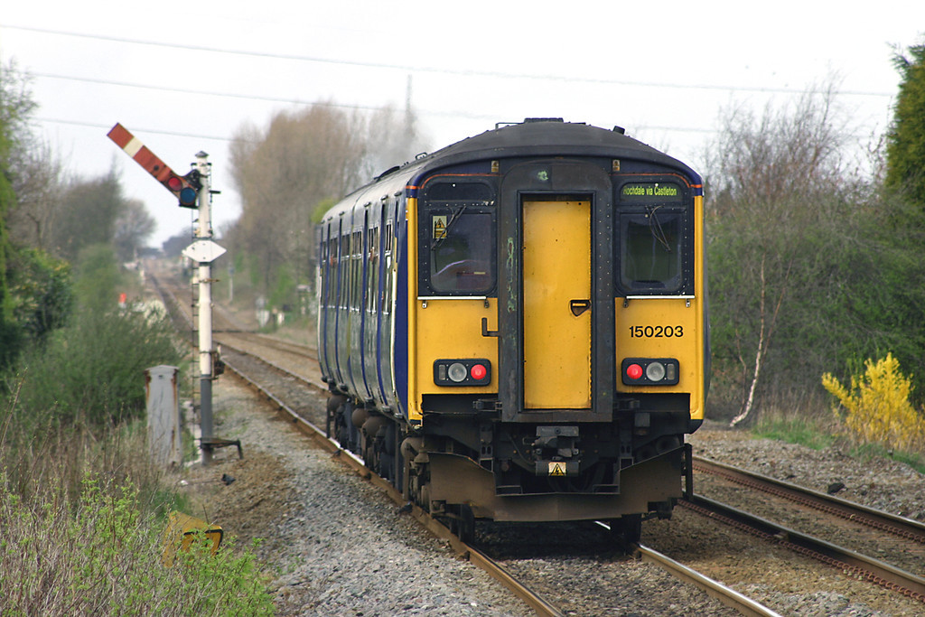 150203 Parbold 4/4/2005<br /> 2F71 1035 Rochdale-Southport
