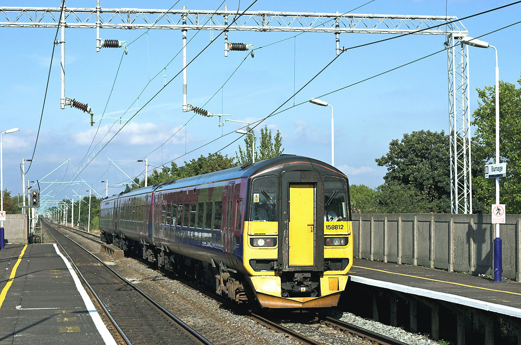 158812 Burnage 5/10/2005<br /> 1P37 1150 Middlesborough-Manchester Airport