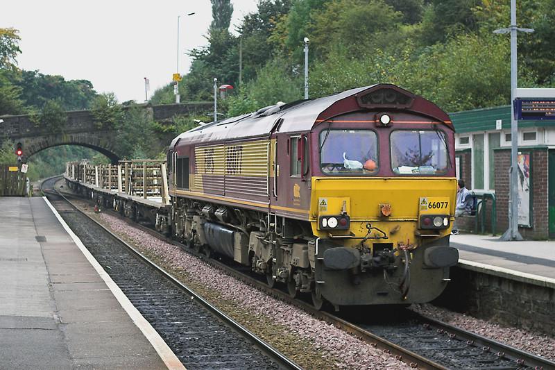 66077 Marple 6/10/2005<br /> 6M23 1049 Toton Up Yard-Castleton