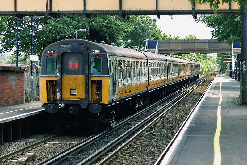 3591 and 3416, Longfield 7/6/2005<br /> 2K22 1041 London Victoria-Faversham