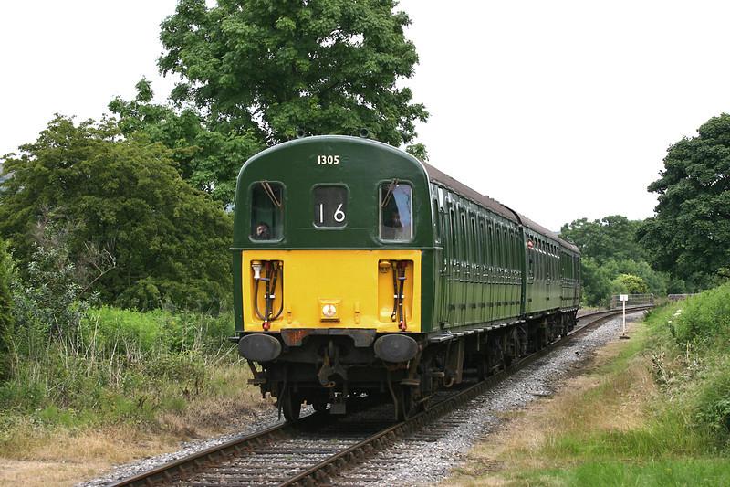 1305 Irwell Vale 8/7/2005<br /> 1J16 1402 Rawtenstall-Heywood