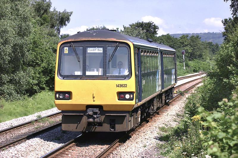 143622 Heath High Level 9/7/2005<br /> 2B38 1123 Caerphilly-Cardiff Bay