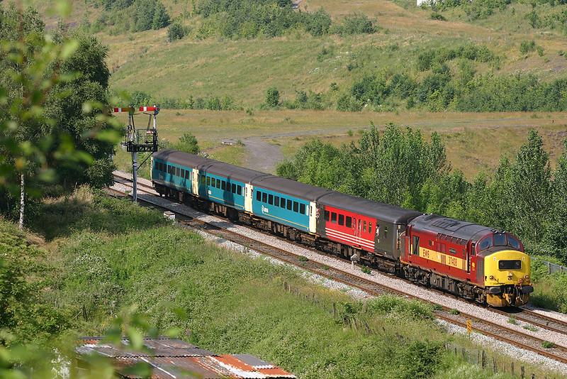 37408 Gilfach Fargoed 9/7/2005<br /> 2F42 1615 Rhymney-Cardiff Central