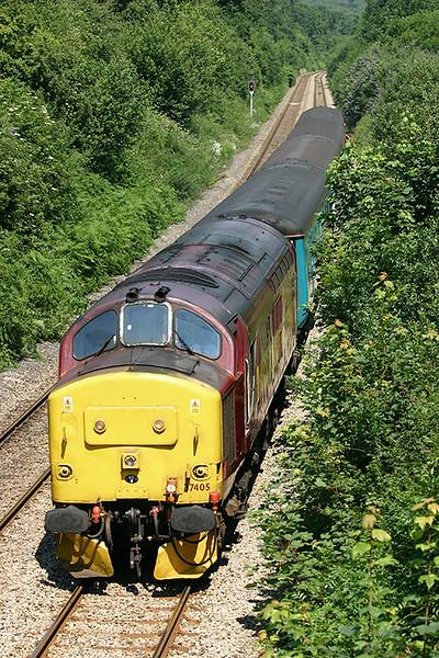 37405 Llanishen 9/7/2005<br /> 2F22 1115 Rhymney-Cardiff Central