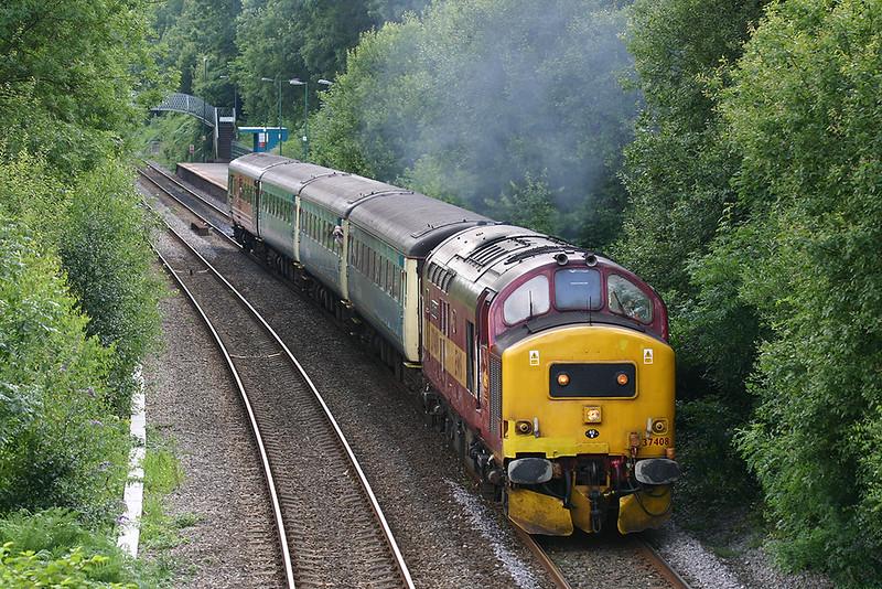 37408 Llanbradach 9/7/2005<br /> 2R34 1459 Cardiff Central-Rhymney