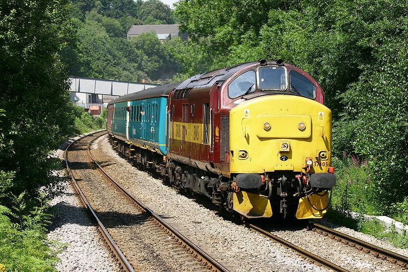 37405 Llanbradach 9/7/2005<br /> 2F34 1415 Rhymney-Cardiff Central