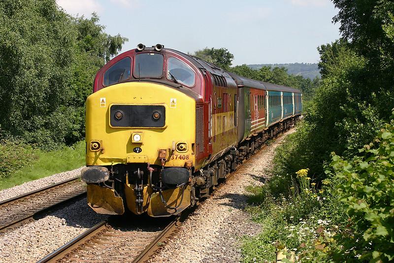 37408 Heath High Level 9/7/2005<br /> 2F18 1015 Rhymney-Cardiff Central