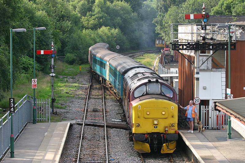 37405 Bargoed 9/7/2005<br /> 2F46 1715 Rhymney-Cardiff Central