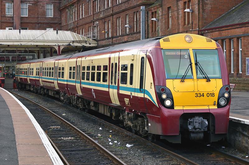 334018 Ayr 10/3/2005<br /> 2K34 1513 Ayr-Glasgow Central