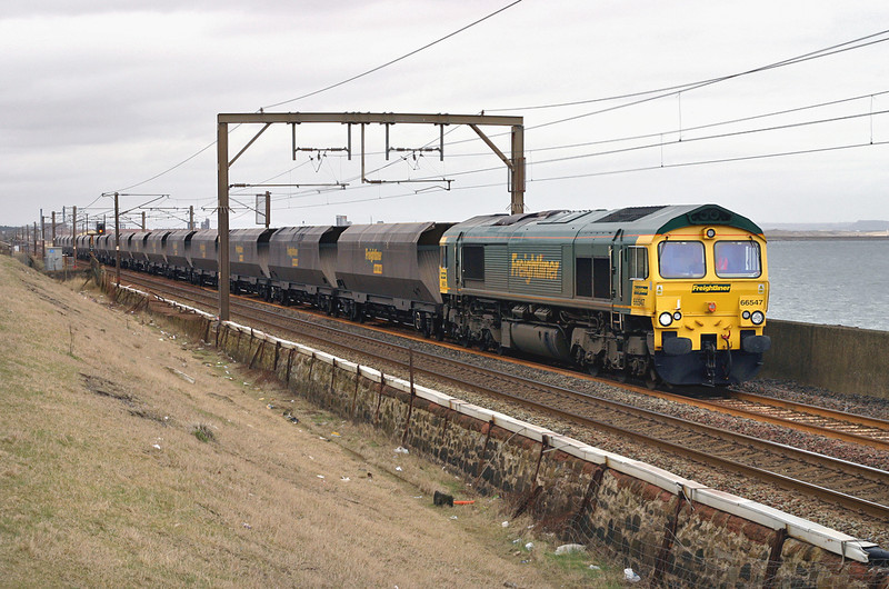66547 Saltcoats 10/3/2005<br /> 4Z48 0300 Ferrybridge PS-Hunterston