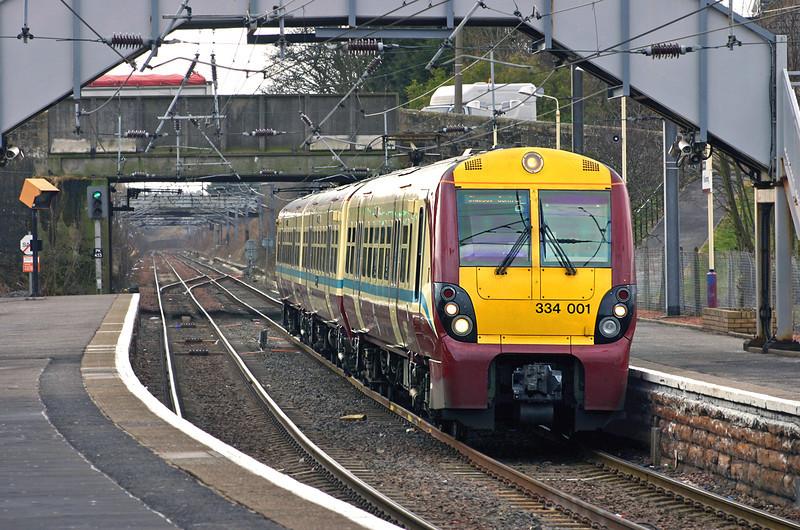 334001 Kilwinning 10/3/2005<br /> 2T60 1131 Ardrossan Town-Glasgow Central