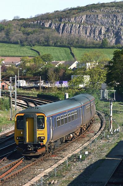 156429 Carnforth 10/5/2005<br /> 2N90 0757 Barrow in Furness-Preston