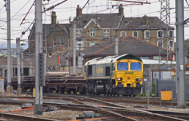 66523 Carnforth 10/5/2005<br /> 6Z11 1100 Carlisle Yard-Basford Hall