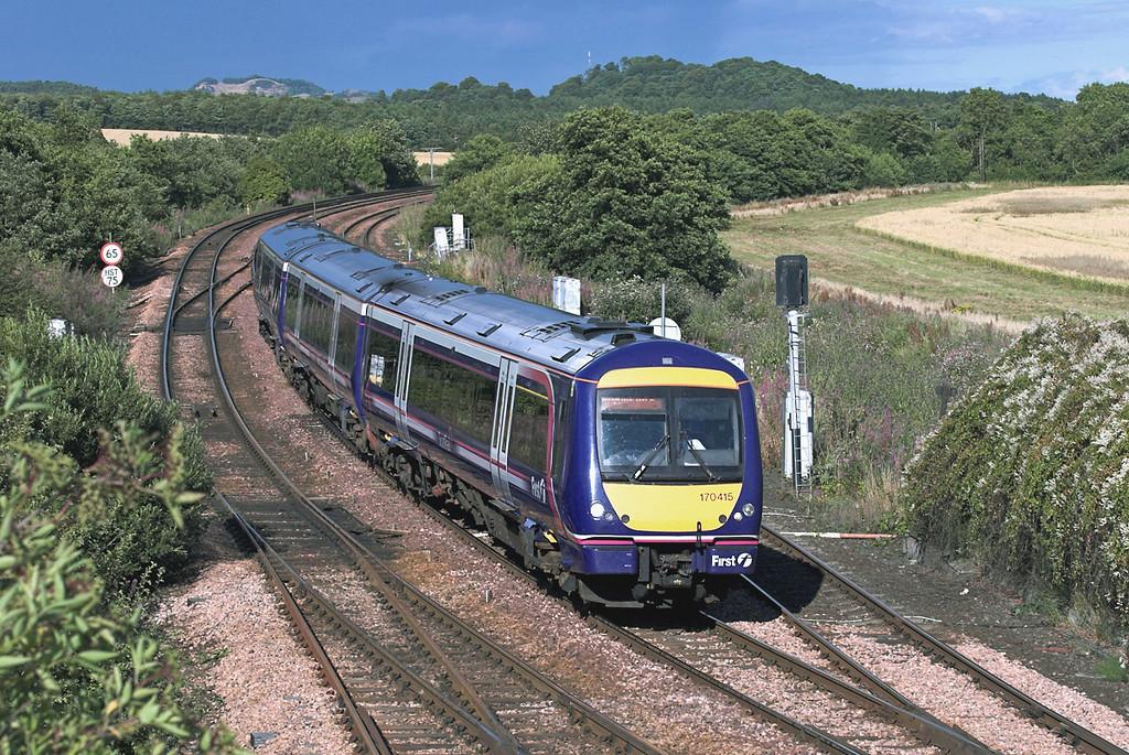 170415 Inverkeithing East Junction 10/8/2005<br /> 1B34 1440 Inverness-Edinburgh
