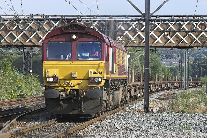 66074 Guide Bridge 10/10/2005<br /> 6M23 1049 Toton Up Yard-Castleton