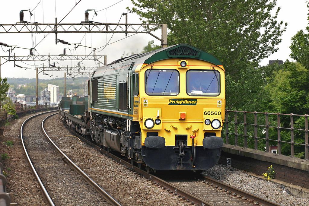 66560 Runcorn 11/5/2005<br /> 4L36 1401 Garston Yard-Dagenham Dock