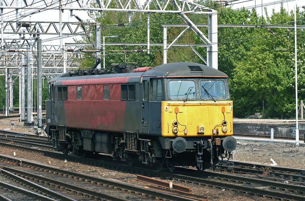 87014 Crewe 11/5/2005<br /> 0Z87 1225 Warrington RMT-Warrington RMT (via Nuneaton)