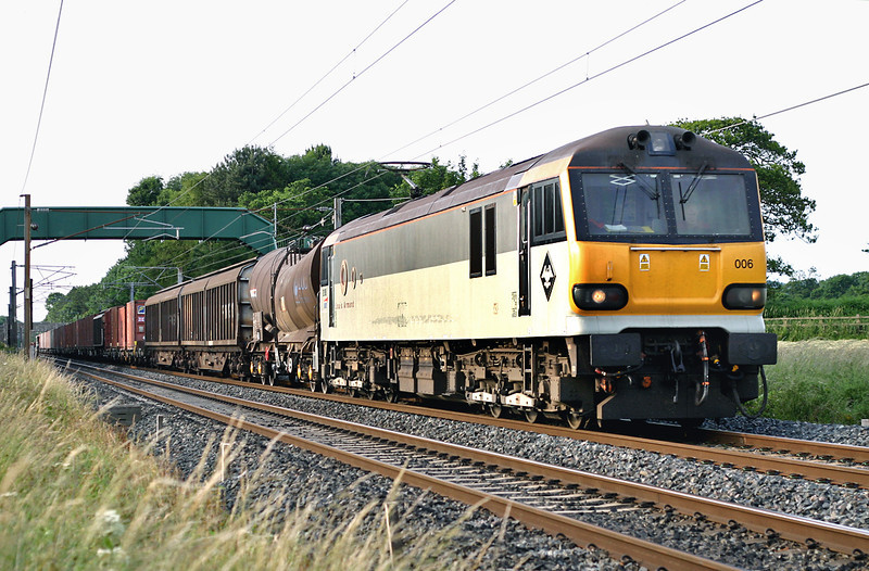 92006 Brock 11/7/2005<br /> 6O12 1723 Carlisle Yard-Eastleigh Yard