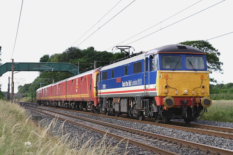 87012 and 325012, Brock 11/7/2005<br /> 1M44 1531 Shieldmuir-Warrington RMT