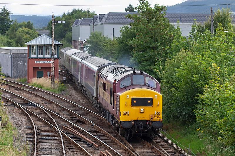 37406 Fort William 11/8/2005<br /> 1Y11 0450 Edinburgh-Fort William