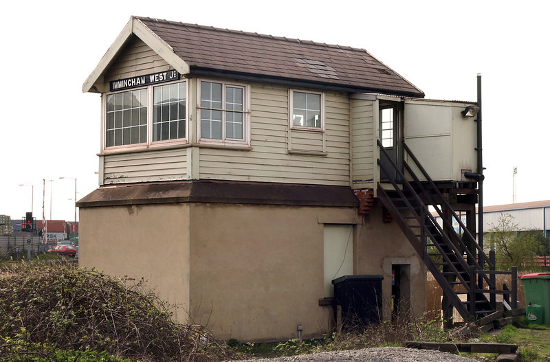 Immingham West Junction 12/4/2005