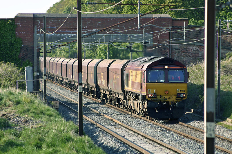66195 Woodacre 12/5/2005<br /> 6M32 1138 Falkland Yard-Ratcliffe PS