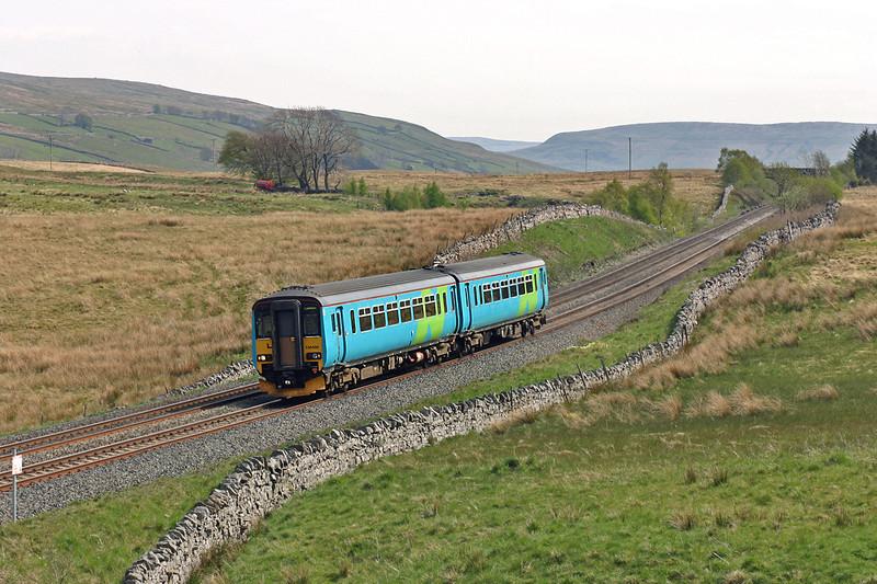 156486 Ais Gill 12/5/2005<br /> 2H88 1249 Leeds-Carlisle