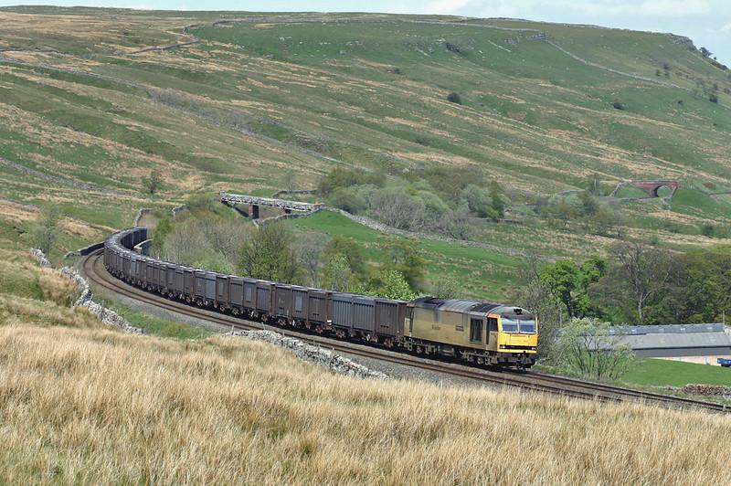 60099 Ais Gill 12/5/2005<br /> 6E13 1240 Newbiggin-Milford Sidings