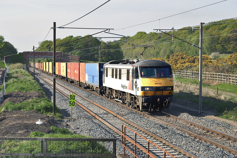 90042 Woodacre 12/5/2005<br /> 4M74 1410 Coatbridge-Basford Hall