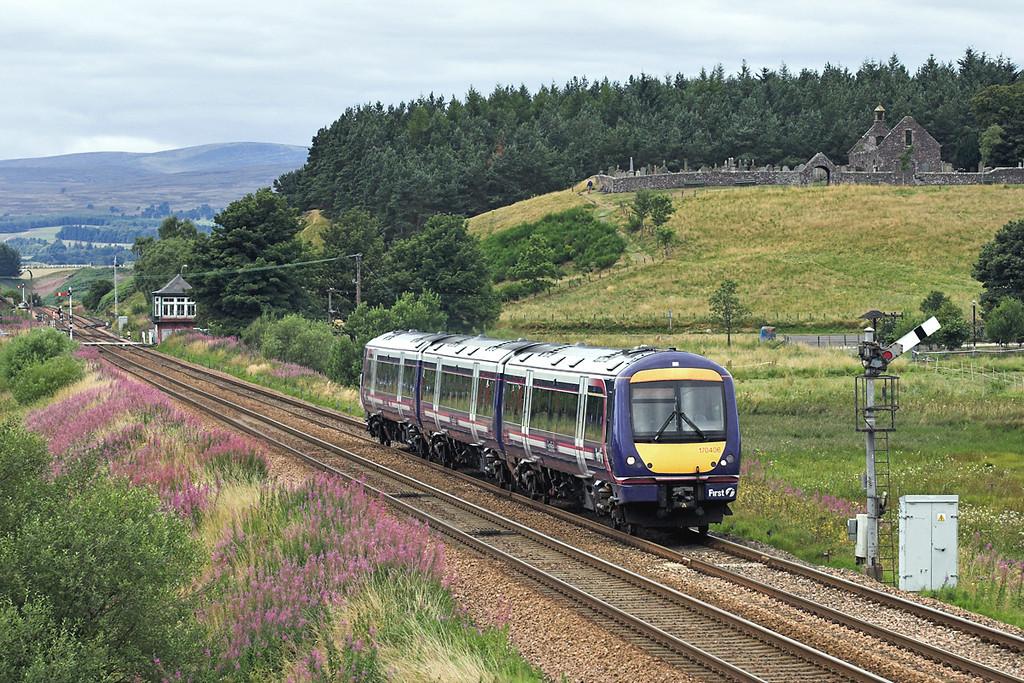 170406 Blackford 12/8/2005<br /> 1A61 1142 Glasgow Queen Street-Aberdeen