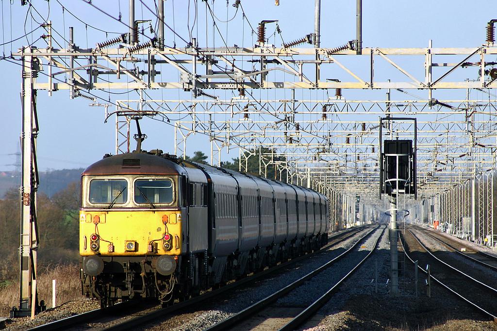 87002 Cheddington 13/1/2005<br /> 1G14 1340 London Euston-Wolverhampton