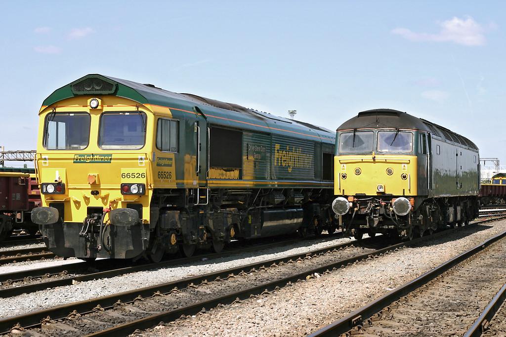 66526 and 47816, Basford Hall 14/5/2005