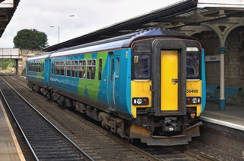 156468 Hexham 14/9/2005<br /> 2N14 1030 Carlisle-Middlesborough