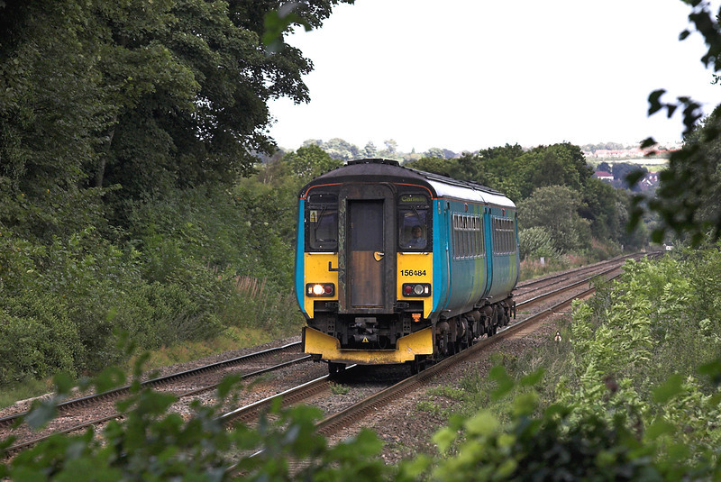 156484 Wylam 14/9/2005<br /> 2N29 1500 Sunderland-Carlisle