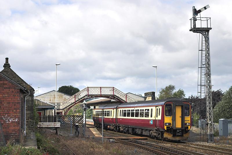 156445 Hexham 14/9/2005<br /> 1E95 1000 Stranraer-Newcastle