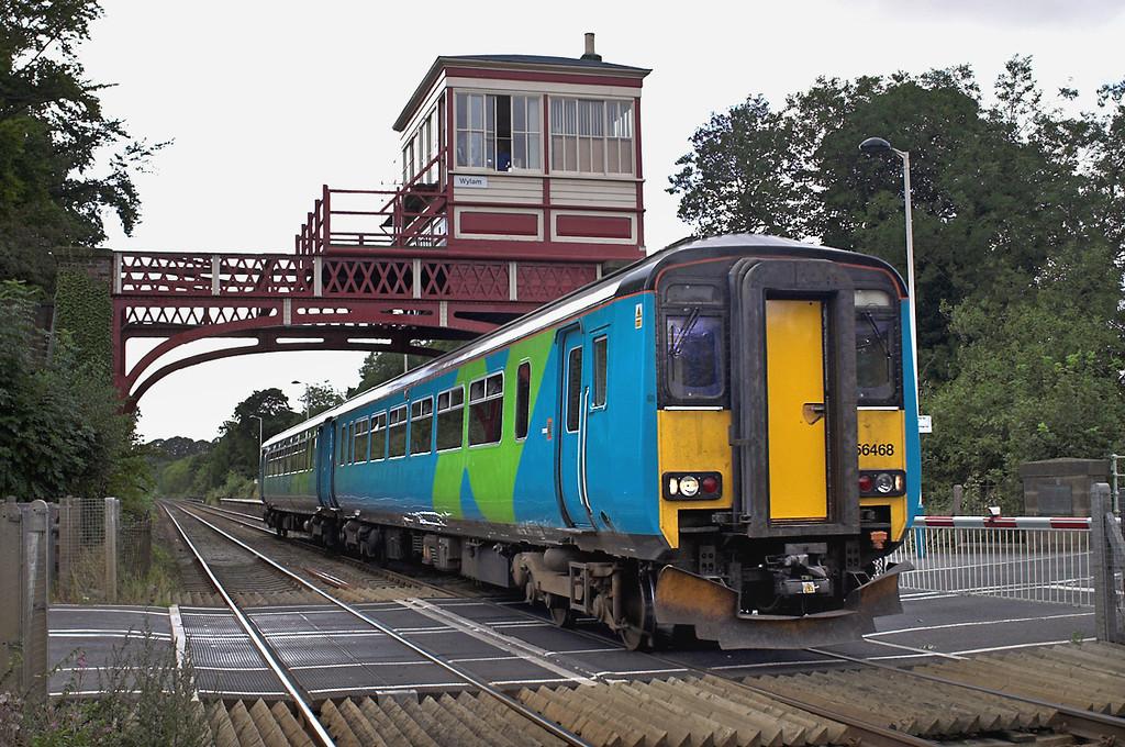 156468 Wylam 14/9/2005<br /> 2N30 1545 Hexham-Sunderland