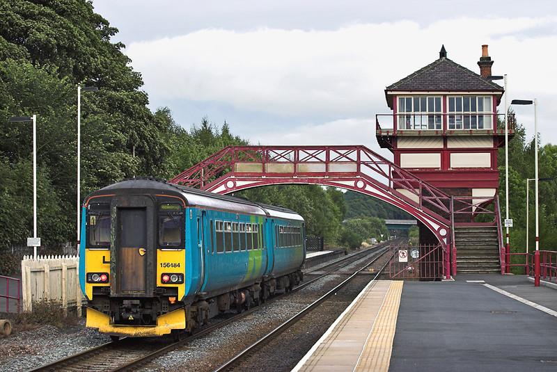156484 Haltwhistle 14/9/2005<br /> 2N40 1720 Carlisle-Middlesborough