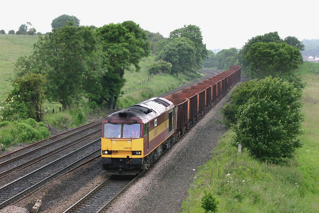 60048 Melton Ross 16/6/2005<br /> 6K23 1141 Stanton-Immingham Ore Terminal