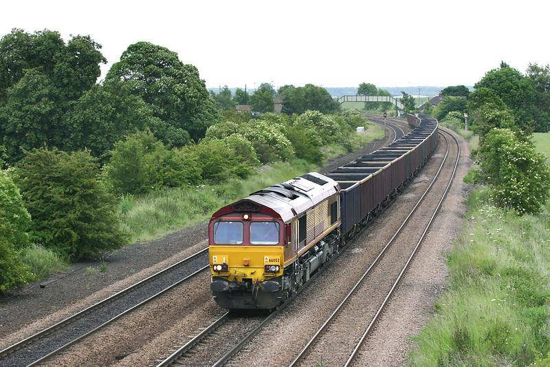66052 Melton Ross 16/6/2005<br /> 6M88 1223 Immingham Reception Sidings-Ketton