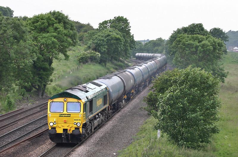 66616 Melton Ross 16/6/2005<br /> 6E54 1038 Kingsbury-Lindsey OR