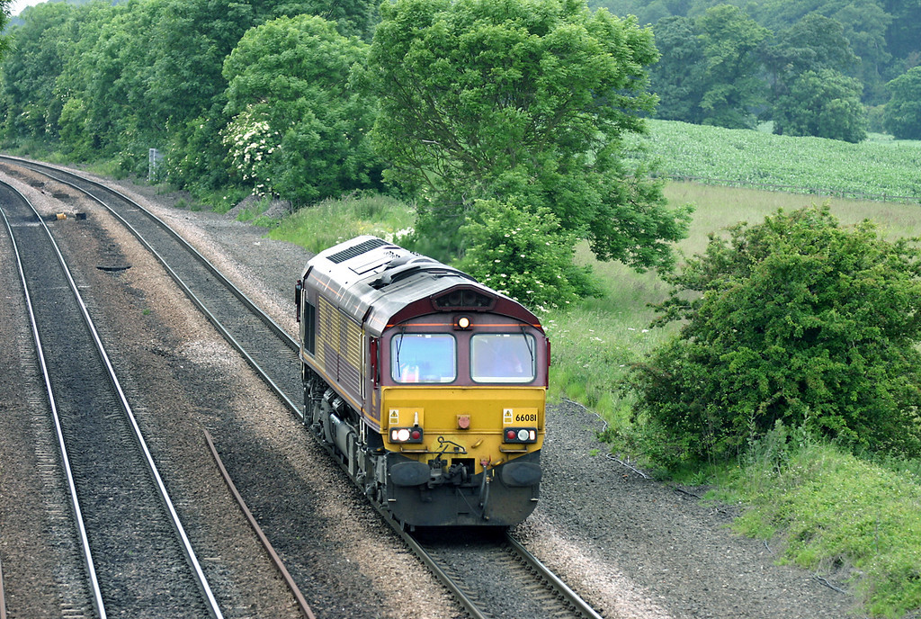 66081 Melton Ross 16/6/2005<br /> 0D07 1200 Doncaster TMD-Immingham TMD