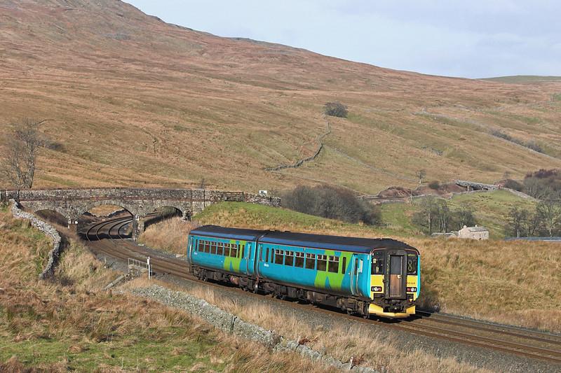 156484 Ais Gill 16/12/2005<br /> 1M53 0947 Leeds-Carlisle